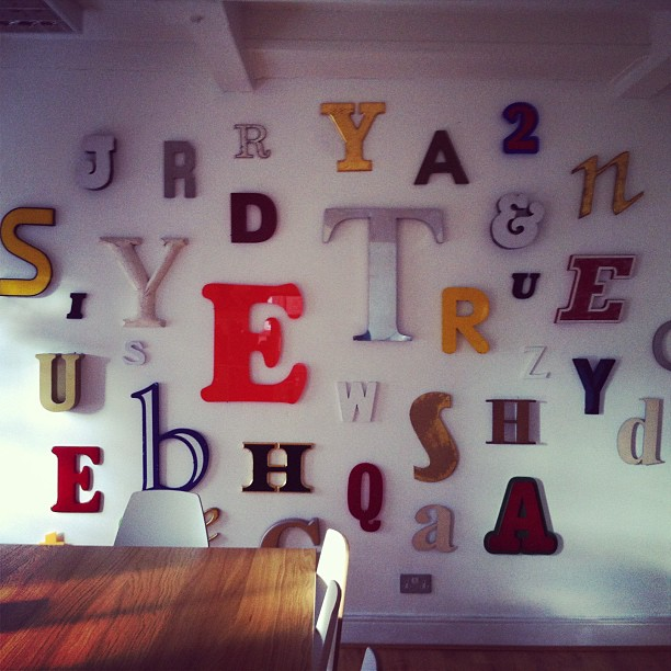 The Typography Wall