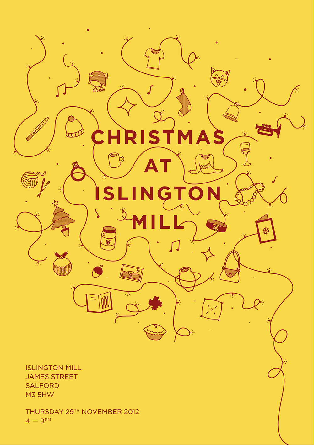Xmas at Islington Mill