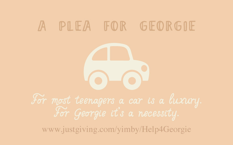 A plea for Georgie