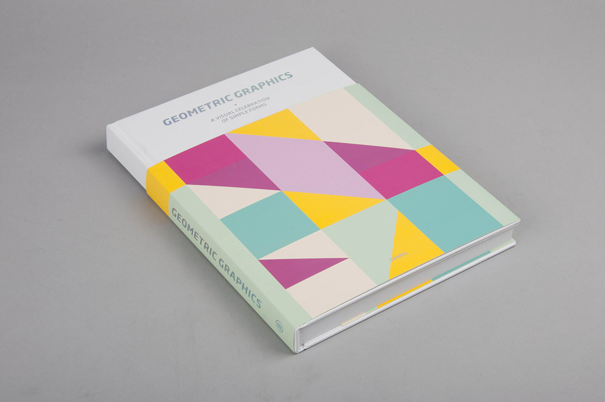 geometric graphics book design by day