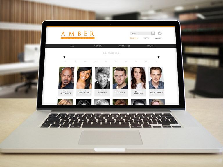 Amber Management Website