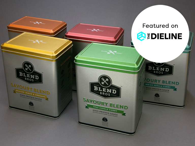 Blend Bros Brand & Packaging