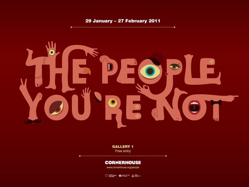 The People You're Not Illustrated Characters