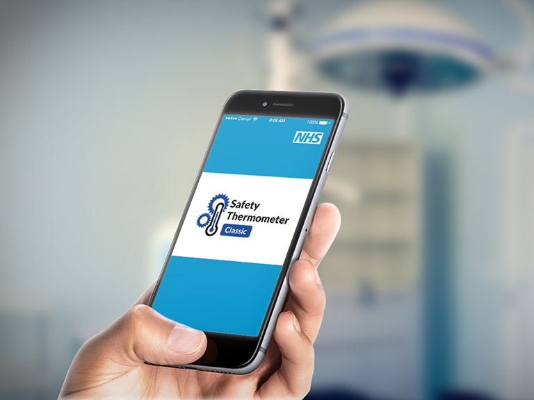 NHS Safety Thermometer App