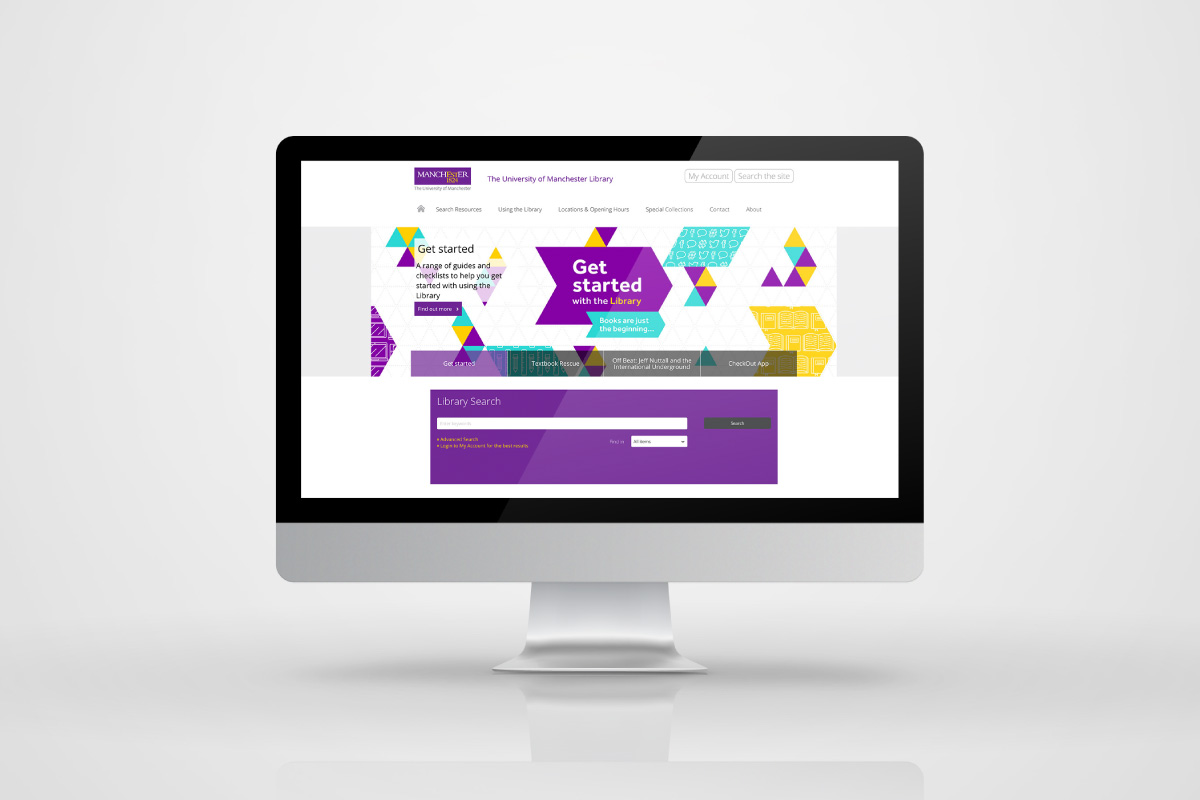 The University of Manchester Get started