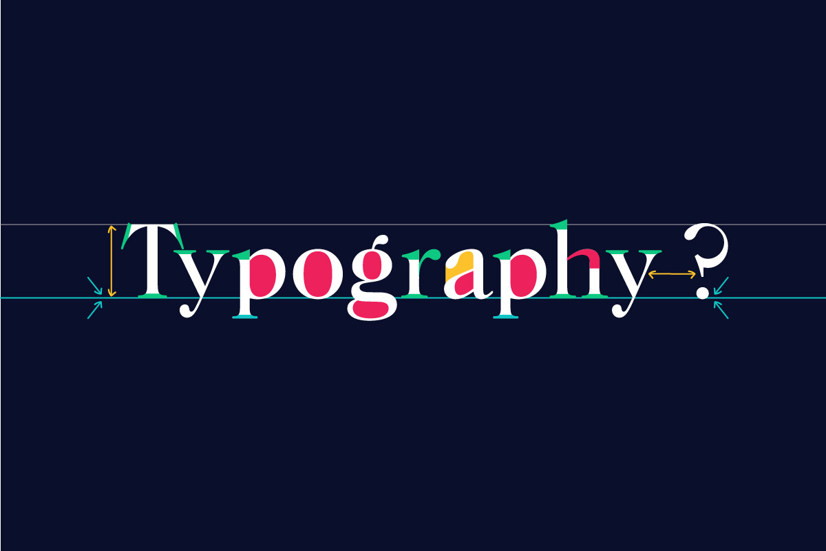 common typography terms