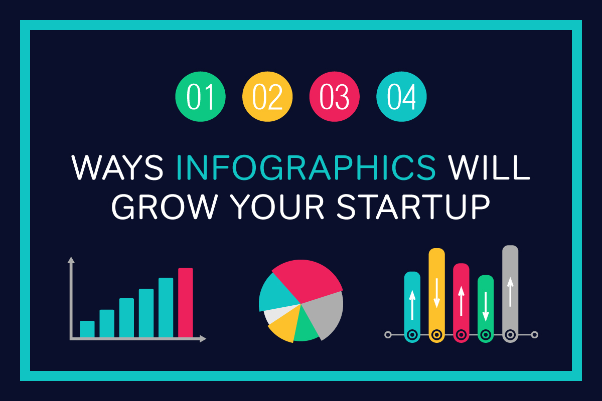 four ways infographics will grow your startup business