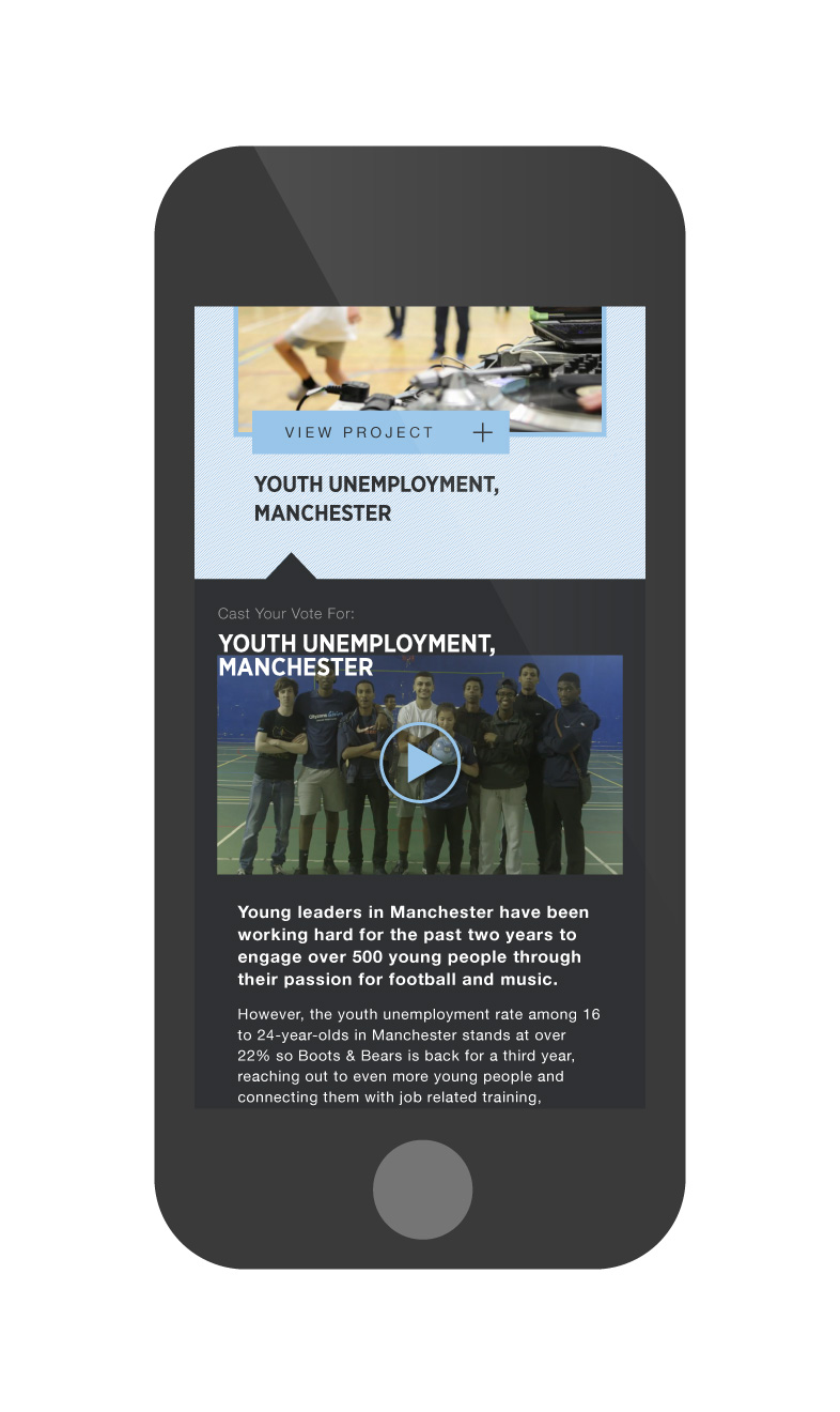 Manchester City FC Cityzens Giving About Project iPhone