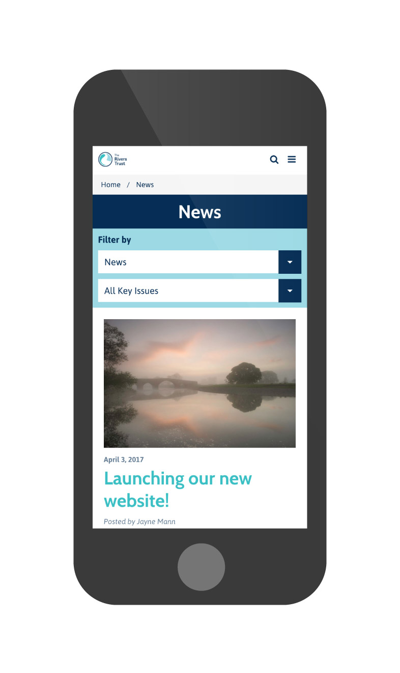 rivers trust news iphone
