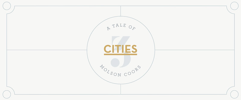 Molson Coors –  Tale of 3 Cities